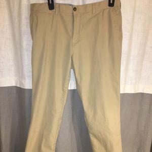 Tommy Hilfiger khaki pants.